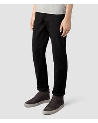 AllSaints - Black Volt Chino for Men - Lyst