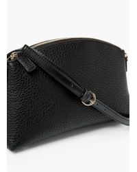 Violeta by Mango | Black Top Handle Small Bag | Lyst