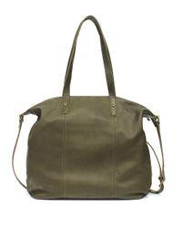 Lucky Brand - Green Medine Leather Tote - Lyst