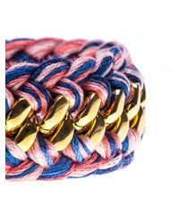 Aurelie Bidermann - Metallic 'Do Brasil' Double Bracelet - Lyst