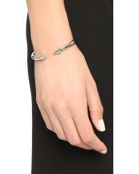 Vita Fede - Metallic Mini Titan Hexagon Bracelet - Silver - Lyst