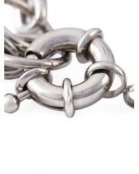 Ambush - Metallic Barbed Wire Bracelet - Lyst