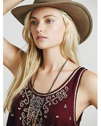 Free People - Purple Starry Night Slip - Lyst