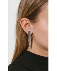 Coyote Negro | Metallic Laminitas Earrings | Lyst
