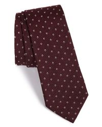 Z Zegna | Purple Diamond Silk Tie for Men | Lyst
