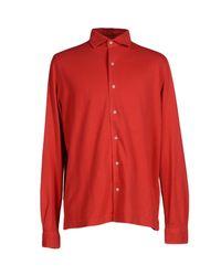 Della Ciana | Red Shirt for Men | Lyst