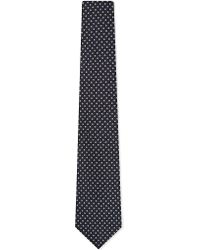 Drake's | Blue Woven Big Spot Tie for Men | Lyst