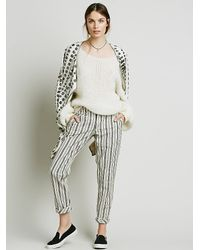 Free People | White Womens Alpaca Cloud Pullover | Lyst