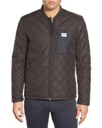 Penfield | Black 'kasota' Quilted Jacket for Men | Lyst