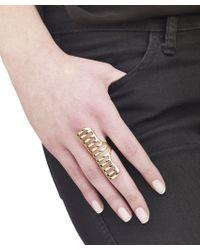 Arme De L'Amour | Metallic Doll Stripe Ring | Lyst