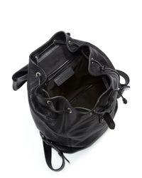 Alexander McQueen - Black Padlock Backpack - Lyst