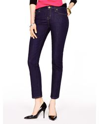 kate spade new york | Blue Delancey Street Straight Leg Jean | Lyst