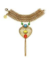 Ben-Amun | Metallic Heart Handpiece | Lyst