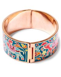 Liberty | Green Imran Multicolour Thick Cuff | Lyst