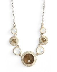 Judith Jack | Metallic Stone Frontal Necklace | Lyst