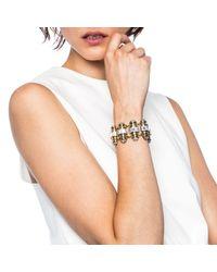 Lulu Frost - Metallic Phantom Bracelet - Lyst