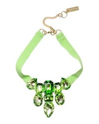 Caterina Capelli | Green Necklace | Lyst