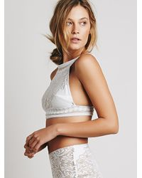 Free People | White Skivvies By For Love & Lemons Womens Pear Blossom Bralette | Lyst