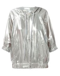 Y-3 - Metallic Hooded Sport Jacket - Lyst
