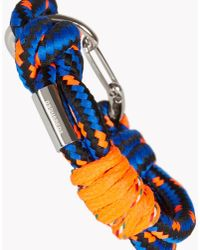 DSquared²   Blue Bungy Jump Armlet for Men   Lyst