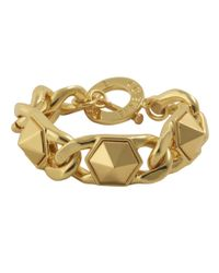 CC SKYE | Metallic Hex Chain Bracelet | Lyst