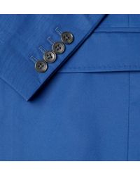 Marc By Marc Jacobs - Blue Cotton Twill Suit Jacket for Men - Lyst