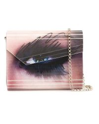 Jimmy Choo - Multicolor 'candy Winking Eye' Clutch - Lyst
