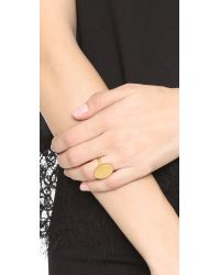 Madewell - Metallic Pinpoint Ring - Lyst