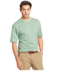 Izod | Green Feeder Stripe Crew-neck T-shirt for Men | Lyst