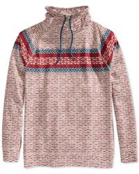 American Rag | Natural Fair Isle Fake Out Sweater for Men | Lyst