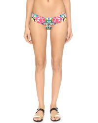 Red Carter | Multicolor Shangri La Reversible Bikini Bottoms | Lyst