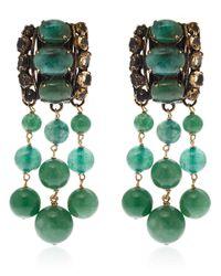 Iradj Moini - Green Aventurine Drop Earrings - Lyst