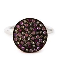 Rosa Maria - Metallic 'New' Ring - Lyst