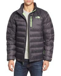 The North Face - Gray 'aconcagua' Goose Down Jacket for Men - Lyst