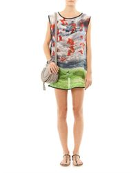 We Are Handsome - Multicolor The Migration Print Silk Cover Up - Lyst