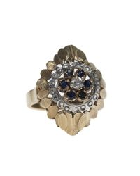 Vanilo - Blue Ines Ring - Lyst