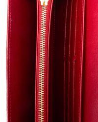 Louis Vuitton | Red Sarah Wallet | Lyst