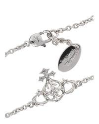 Vivienne Westwood - Metallic Alma Bas Relief Preciosa Orb Bracelet - Lyst