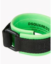 DSquared² | Green Techno Japan Armlet for Men | Lyst