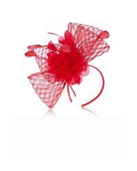 Coast - Red Gracie Basket Weave Fascinator - Lyst
