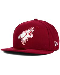 KTZ - Red Arizona Coyotes C-dub 59fifty Cap for Men - Lyst