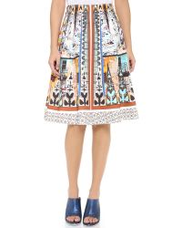 Clover Canyon | Multicolor Havana Circle Full Skirt | Lyst