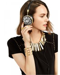 BaubleBar - White Frends X Fortuna Layla Headphones Set-black - Lyst