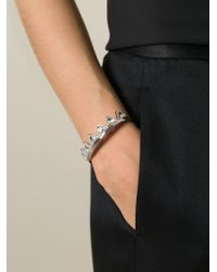 Ca&Lou - Metallic 'suki' Bangle - Lyst