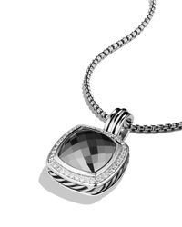 David Yurman | Metallic Albion Pendant With Hematine & Diamonds | Lyst