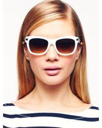 Kate Spade | White Autumn Sunglasses | Lyst