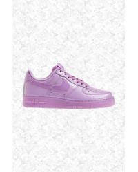 Nike | Purple 'Air Force 1' Sneaker | Lyst