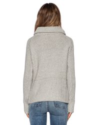 M.i.h Jeans | Gray The Square Polo Turtleneck | Lyst