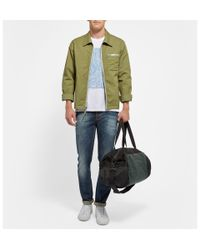 Marc By Marc Jacobs - Green Twotone Canvas and Shell Holdall for Men - Lyst