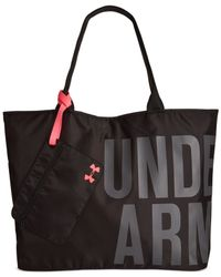 Under Armour | Black Big Tote Bag | Lyst